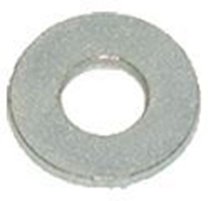 Picture of WASHER .375ID x .875OD x .083 THK CARBON STEEL              FLAT ZINC PLATED