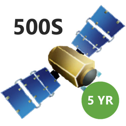 Picture of SUBSCRIP 500S 5YR SATELLITE GS