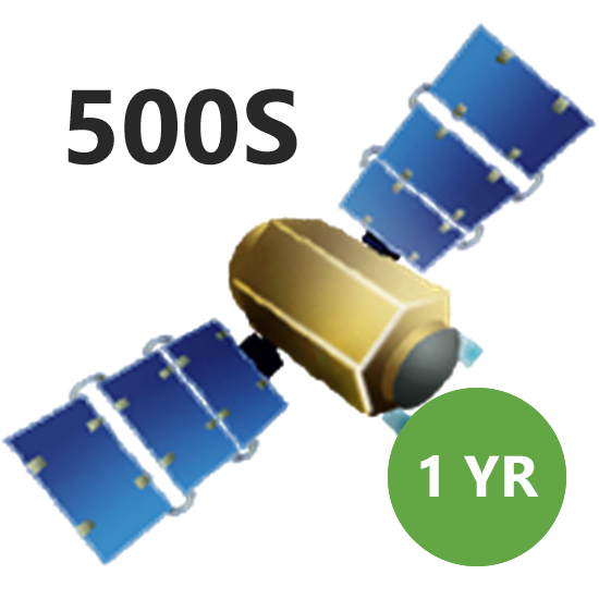 Picture of SUBSCRIP 500S 1YR SATELLITE GS